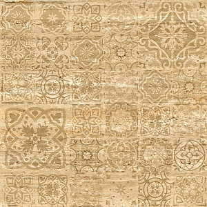 Travertine Decor Медовая 1200x1200 Структурная